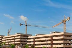 Bâtiments en construction Photos libres de droits