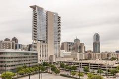 Bâtiments en Dallas Downtown photos stock