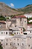 Bâtiments en pierre historiques, Mostar Photo libre de droits