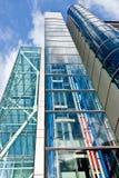 Bâtiments en verre Image libre de droits