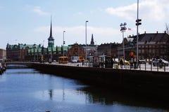 Bâtiments et éléments, Danemark Image libre de droits