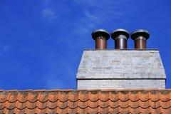 Bâtiments et éléments, Danemark Photo stock