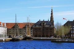 Bâtiments et éléments, Danemark Images libres de droits