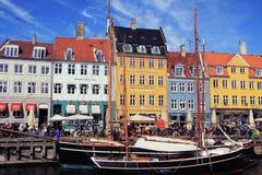 Bâtiments et éléments, Danemark Photographie stock