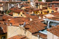 Bâtiments et architecture de la Renaissance du centre historique de Florence, Italie images stock