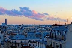 Bâtiments et architecture typiques de Paris photo libre de droits