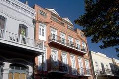 Bâtiments gentils dans la ville la Nouvelle-Orléans photographie stock