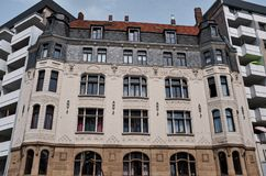 Bâtiments historiques à Cologne, Allemagne Images libres de droits