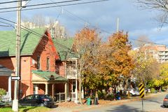 Bâtiments historiques à Ottawa, Canada Images libres de droits