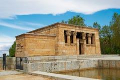 Bâtiments historiques avec des avants de dentelle de Madrid photo libre de droits