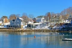 Bâtiments historiques chez Rockport, le Massachusetts Images libres de droits