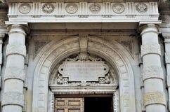 Bâtiments historiques dans la capitale fédérale de l'Argentine Buenos Aires images stock