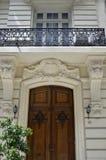 Bâtiments historiques dans la capitale fédérale de l'Argentine Buenos Aires photographie stock