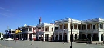 Bâtiments historiques de Grenade, Nicaragua Photographie stock