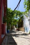 Bâtiments historiques de Rhodos Grèce Images libres de droits
