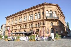 Bâtiments historiques de Riga le 22 août 2014 - de Riga en Lettonie Photographie stock libre de droits