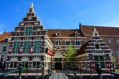 Bâtiments historiques de Rotterdam et architecture déplacement de Pays-Bas, l'Europe photo stock