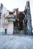 Bâtiments industriels abandonné et de démolition Image libre de droits