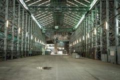 Bâtiments industriels abandonnés, île de cacatoès, Sydney, NSW Photo libre de droits