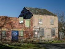 Bâtiments industriels abandonnés Images stock
