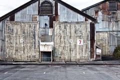 Bâtiments industriels abandonnés Photographie stock libre de droits