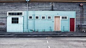Bâtiments industriels abandonnés Photos stock