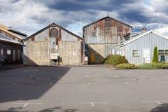 Bâtiments industriels abandonnés Photo libre de droits