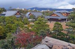 Bâtiments japonais traditionnels Image stock