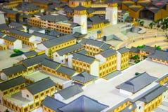 Bâtiments miniatures Photo libre de droits