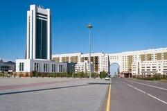 Bâtiments modernes à Astana Kazakhsatan Photographie stock libre de droits