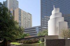 Bâtiments modernes à Dallas du centre photographie stock libre de droits
