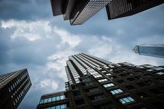 Bâtiments modernes à New York City Photos libres de droits