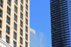 3 bâtiments modernes Image stock