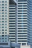 Bâtiments modernes d'architecture Image stock