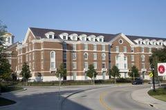 Bâtiments modernes dans la ville Dallas de SMU Images stock