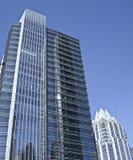 Bâtiments modernes dans le downtow Austin Photographie stock libre de droits