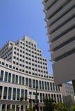 Bâtiments modernes de bureau municipal Photographie stock