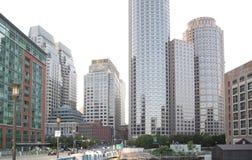 Bâtiments modernes gentils à Boston images libres de droits