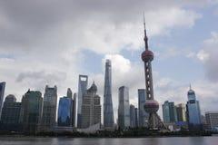 Bâtiments modernes magnific 2 de Changhaï images libres de droits