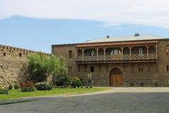 bâtiments monastiques Image stock