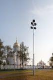Bâtiments orthodoxes de temple Photos libres de droits