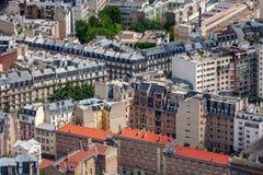 Bâtiments parisiens Images libres de droits