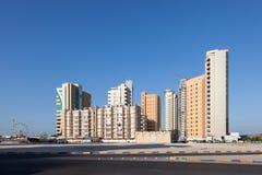 Bâtiments résidentiels dans Kuwai Photographie stock libre de droits