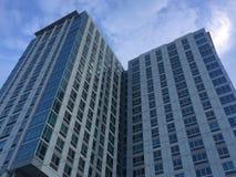 Bâtiments résidentiels dans Stamford, le Connecticut images stock