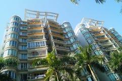 Bâtiments résidentiels urbains Images stock