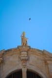 Bâtiments religieux Dubrovnik, Croatie Images libres de droits