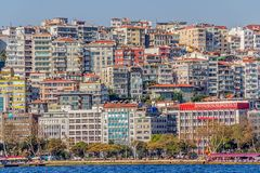 Bâtiments residental d'Istanbul Photo stock
