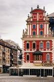 Bâtiments sur la place médiévale du marché à Wroclaw utilisant des styles du baroque et de classicisme, Pologne images libres de droits