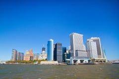 Bâtiments sur Manhattan Images libres de droits