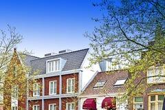 Bâtiments traditionnels dans la ville d'Amersfoort Photos libres de droits